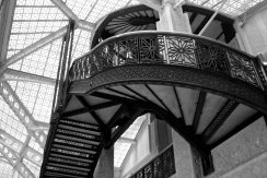 Studied the Rookery (& other Chicago architecture)