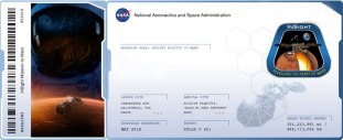 Launched my name to Mars aboard NASA's Insight