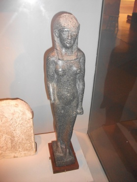 Studied in a museum's hidden library while researching this Egyptian statue (Ptolemaic Roman)